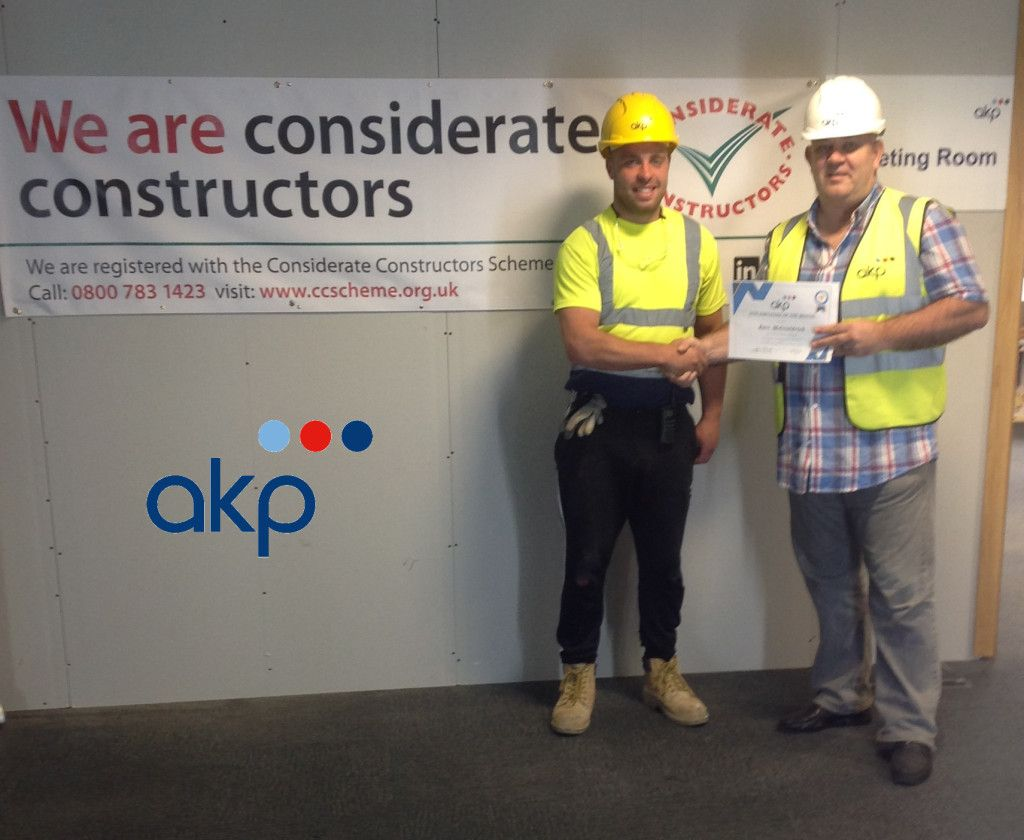 George Street Site – Employee of the Month