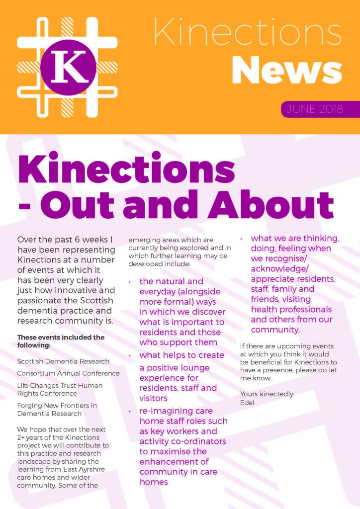 Kinections East Ayrshire – Building Community Connections