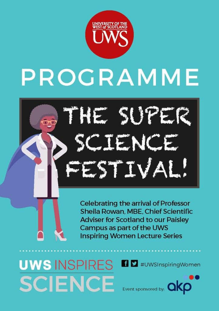 Supporting the Super Science Festival