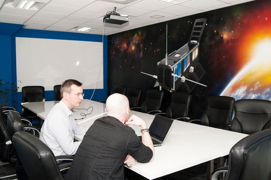 akp create surroundings to inspire innovation at Clyde Space