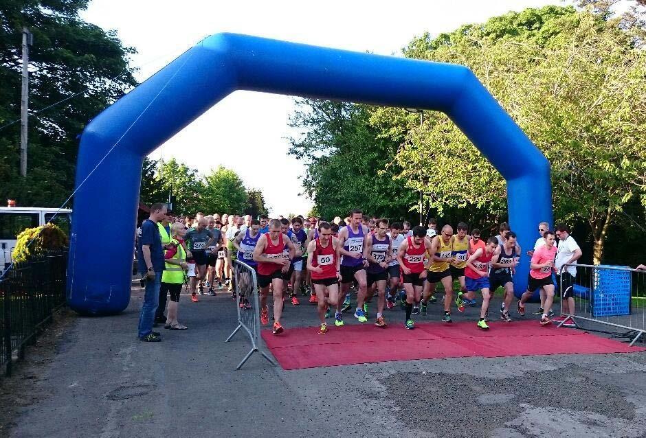 Sponsering the Giffnock running festival