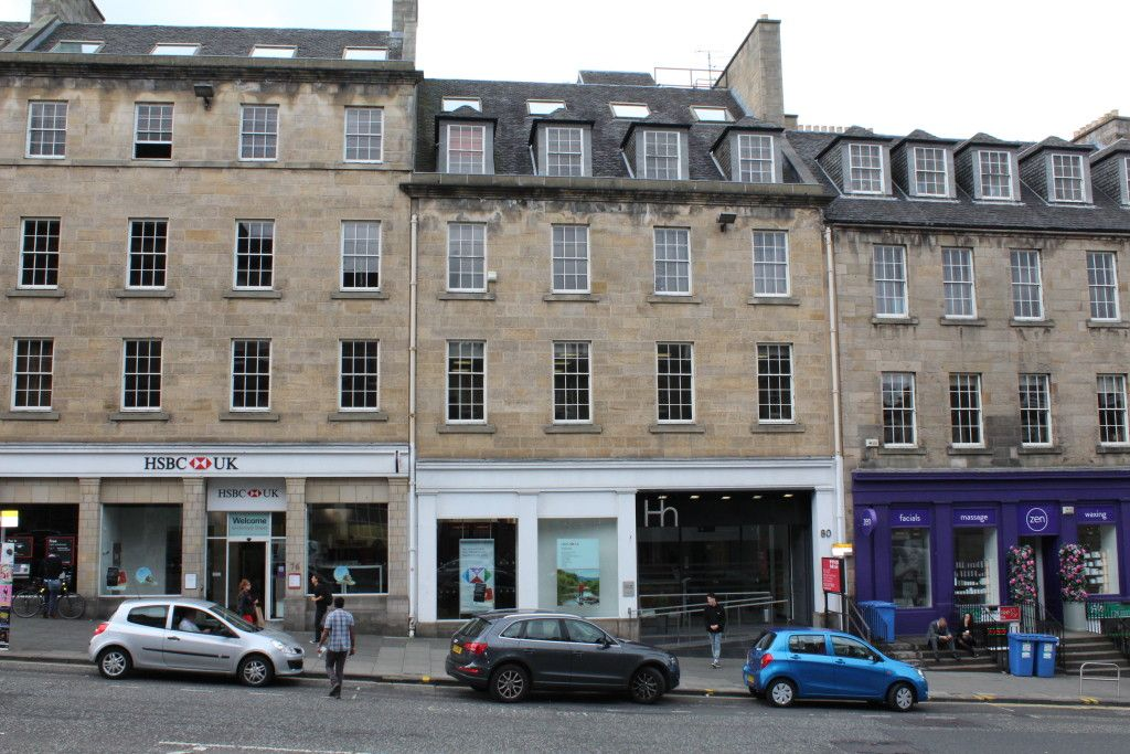 akp delivering refurbishment within esteemed Edinburgh business address