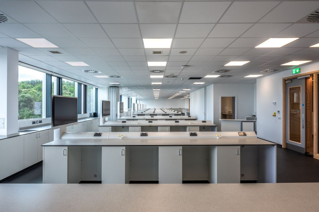 Lab Fit Out Handover